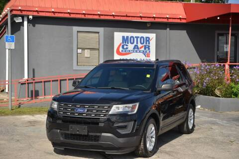 2017 Ford Explorer for sale at Motor Car Concepts II - Kirkman Location in Orlando FL