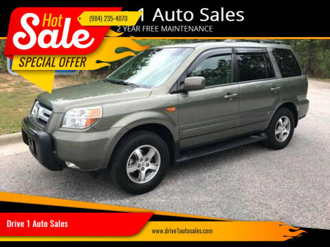 2007 Honda Pilot for sale at Drive 1 Auto Sales in Wake Forest NC
