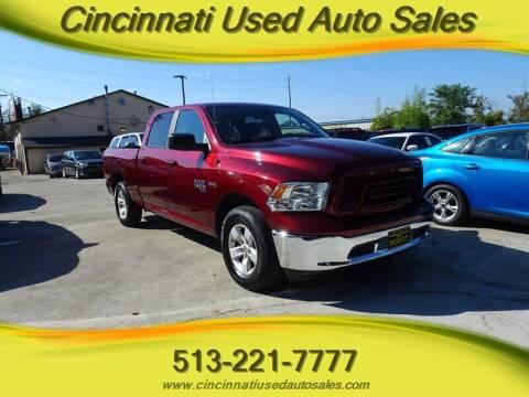 2019 RAM Ram Pickup 1500 Classic for sale at Cincinnati Used Auto Sales in Cincinnati OH