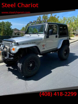 2003 Jeep Wrangler for sale at Steel Chariot in San Jose CA