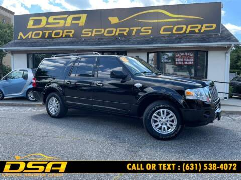 2012 Ford Expedition EL for sale at DSA Motor Sports Corp in Commack NY