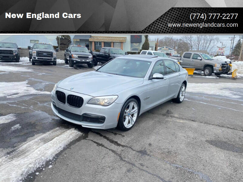 2014 BMW 7 Series for sale at New England Cars in Attleboro MA