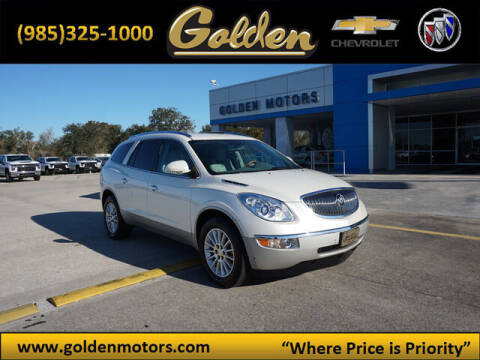 2012 Buick Enclave for sale at GOLDEN MOTORS in Cut Off LA