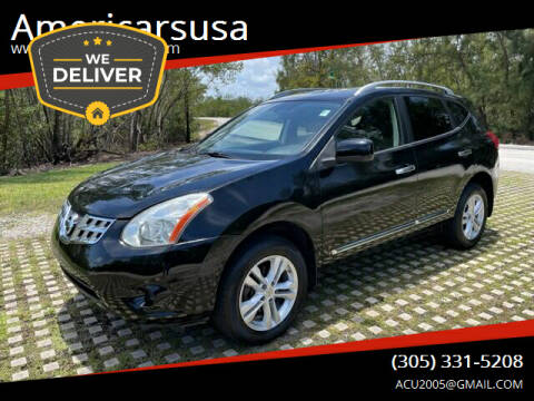 2012 Nissan Rogue for sale at Americarsusa in Hollywood FL