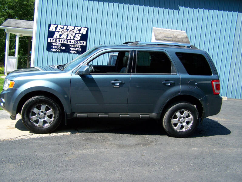 2011 Ford Escape for sale at Keiter Kars in Trafford PA