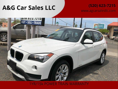 2013 BMW X1 for sale at A&G Car Sales  LLC in Tucson AZ