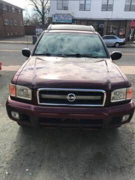 2003 Nissan Pathfinder for sale at Jardims' Automotive in Roselle NJ