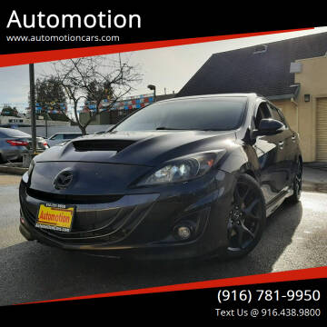 2013 Mazda MAZDASPEED3 for sale at Automotion in Roseville CA
