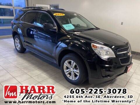 2015 Chevrolet Equinox for sale at Harr's Redfield Ford in Redfield SD