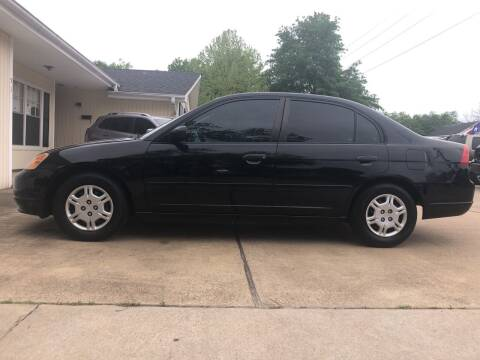 2001 Honda Civic for sale at H3 Auto Group in Huntsville TX