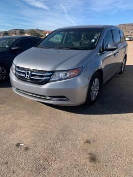 2016 Honda Odyssey for sale at Poor Boyz Auto Sales in Kingman AZ