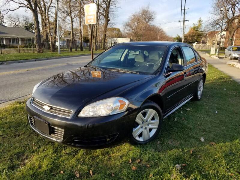 2011 Chevrolet Impala for sale at RBM AUTO BROKERS in Alsip IL