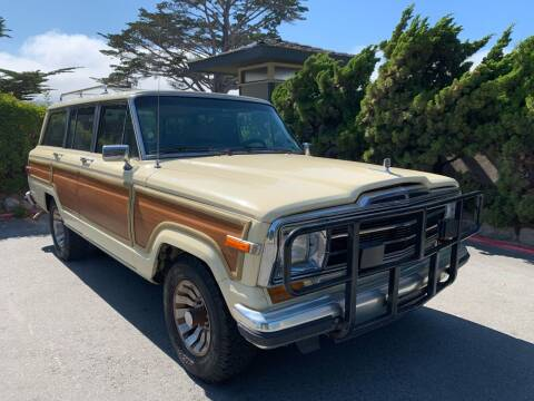1987 Jeep Grand Wagoneer for sale at Dodi Auto Sales in Monterey CA