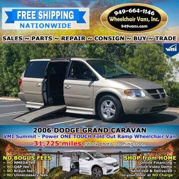 2006 Dodge Grand Caravan for sale at Wheelchair Vans Inc - New and Used in Laguna Hills CA