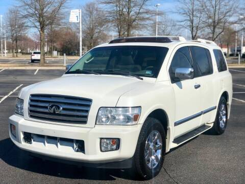 2005 Infiniti QX56 for sale at Supreme Auto Sales in Chesapeake VA