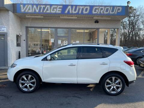 2012 Nissan Murano for sale at Vantage Auto Group in Brick NJ