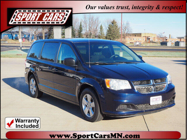 2013 Dodge Grand Caravan for sale at SPORT CARS in Norwood MN