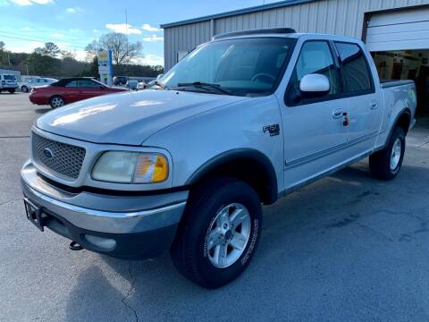2002 Ford F-150 for sale at Vanns Auto Sales in Goldsboro NC