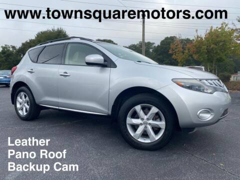 2009 Nissan Murano for sale at Town Square Motors in Lawrenceville GA