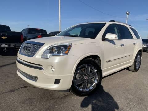 2012 GMC Acadia for sale at Superior Auto Mall of Chenoa in Chenoa IL