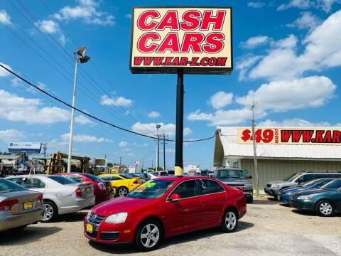 2008 Volkswagen Jetta for sale at www.CashKarz.com in Dallas TX