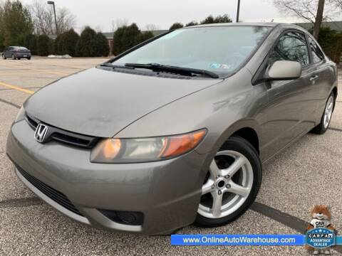 2007 Honda Civic for sale at IMPORTS AUTO GROUP in Akron OH