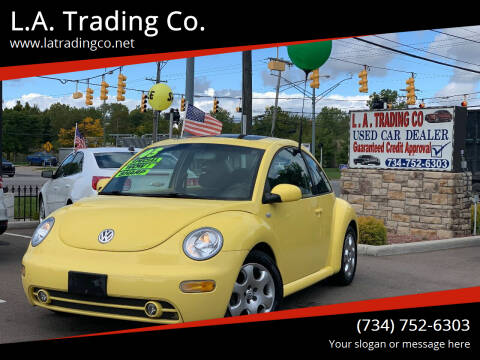 2003 Volkswagen New Beetle for sale at L.A. Trading Co. Woodhaven in Woodhaven MI