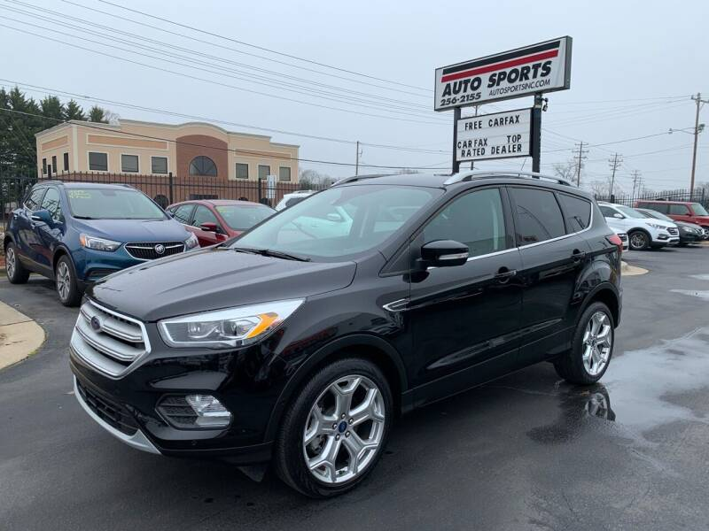 2019 Ford Escape for sale at Auto Sports in Hickory NC