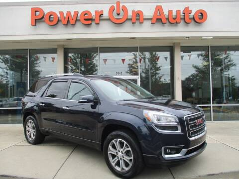2015 GMC Acadia for sale at Power On Auto LLC in Monroe NC
