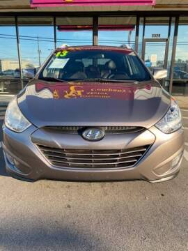 2013 Hyundai Tucson for sale at Greenville Motor Company in Greenville NC