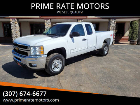 2013 Chevrolet Silverado 2500HD for sale at PRIME RATE MOTORS in Sheridan WY