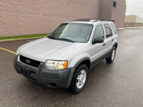 2002 Ford Escape for sale at JE Autoworks LLC in Willoughby OH