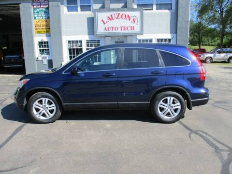 2010 Honda CR-V for sale at LAUZON'S AUTO TECH TOWING in Malone NY