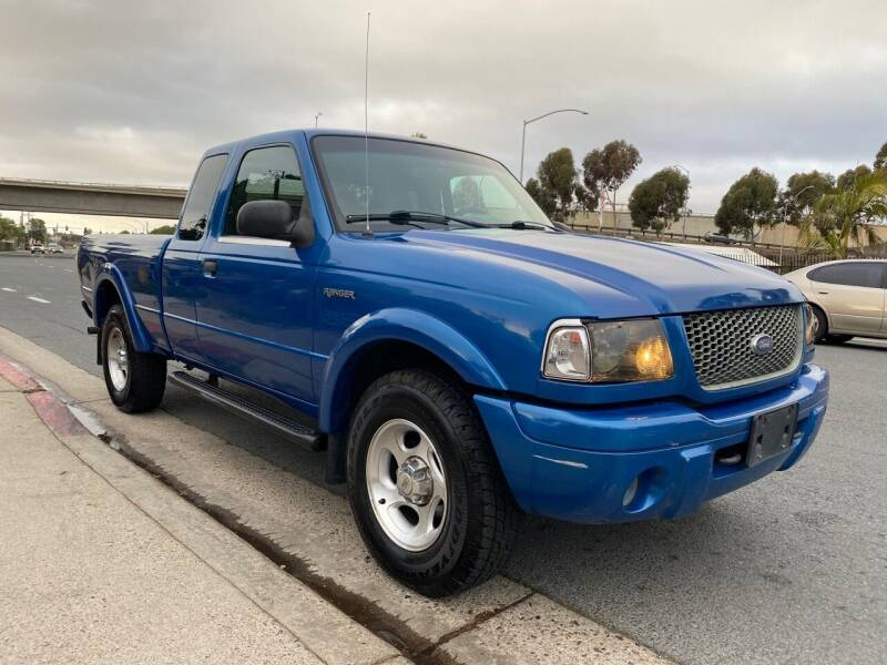2001 Ford Ranger for sale at Beyer Enterprise in San Ysidro CA