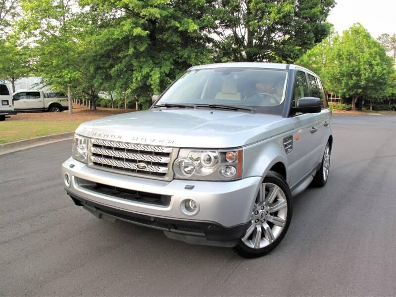 2008 Land Rover Range Rover Sport for sale at Top Rider Motorsports in Marietta GA