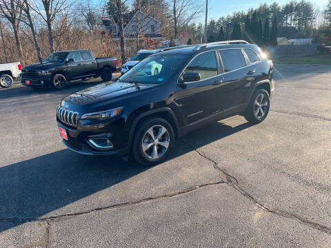 2019 Jeep Cherokee for sale at Glen's Auto Sales in Fremont NH