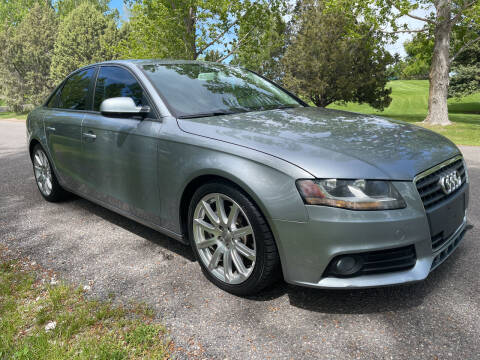 2011 Audi A4 for sale at BELOW BOOK AUTO SALES in Idaho Falls ID