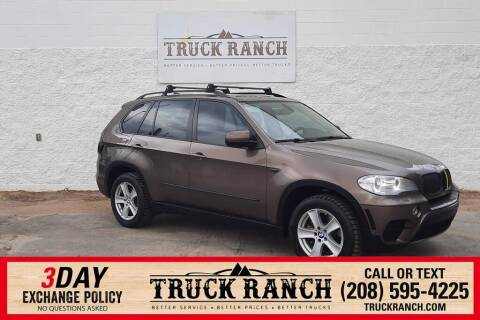 2012 BMW X5 for sale at Truck Ranch in Twin Falls ID