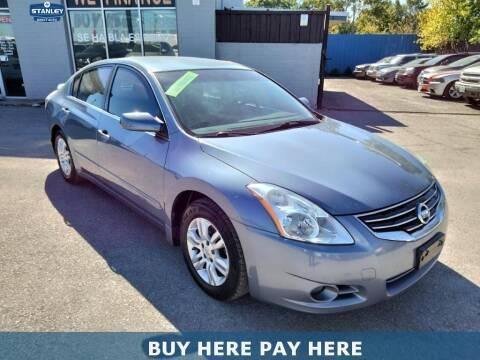 2012 Nissan Altima for sale at Stanley Automotive Finance Enterprise - STANLEY DIRECT AUTO in Mesquite TX