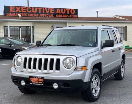 2011 Jeep Patriot for sale at Executive Auto in Winchester VA