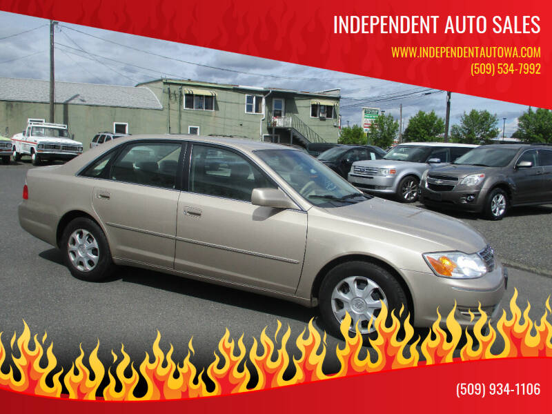 2003 Toyota Avalon for sale at Independent Auto Sales in Spokane Valley WA