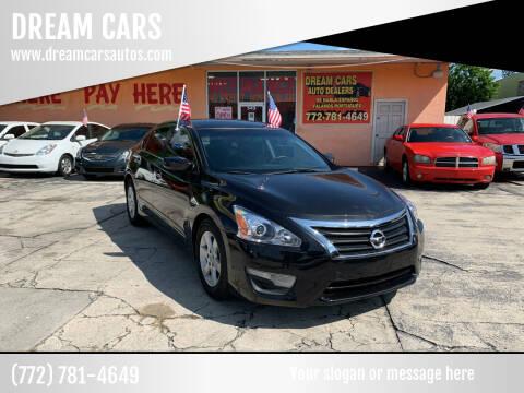 2014 Nissan Altima for sale at DREAM CARS in Stuart FL
