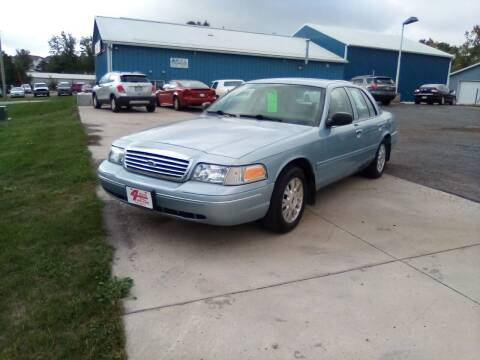 2005 Ford Crown Victoria for sale at Four Guys Auto in Cedar Rapids IA