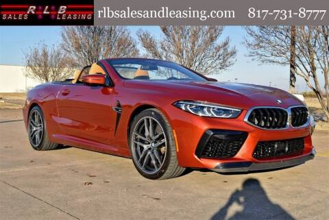2020 BMW M8 for sale at RLB Sales and Leasing in Fort Worth TX