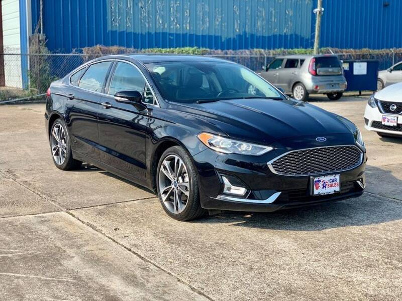 2019 Ford Fusion for sale at USA Car Sales in Houston TX