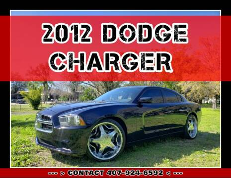 2012 Dodge Charger for sale at AFFORDABLE ONE LLC in Orlando FL