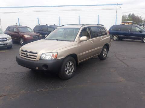 2005 Toyota Highlander for sale at Flag Motors in Columbus OH