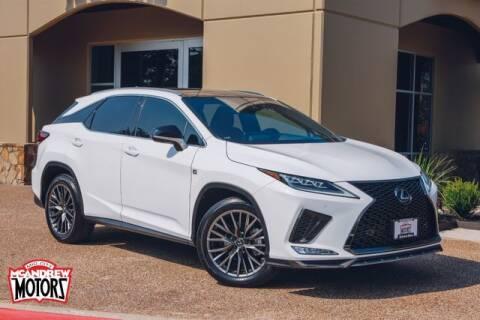 2020 Lexus RX 350 for sale at Mcandrew Motors in Arlington TX