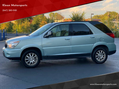 2006 Buick Rendezvous for sale at Klean Motorsports in Skokie IL