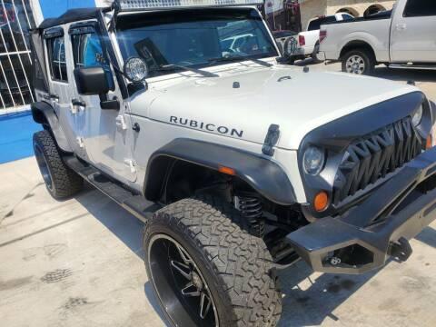 2008 Jeep Wrangler Unlimited for sale at Progressive Auto Plex in San Antonio TX